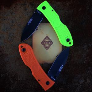 Ka-Bar Dozier Folding Hunter Zombie Green zsebkés