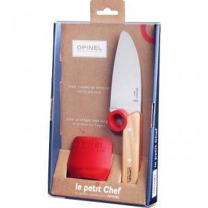 Opinel Le Petit Chef Set szakácskés + ujjvédő