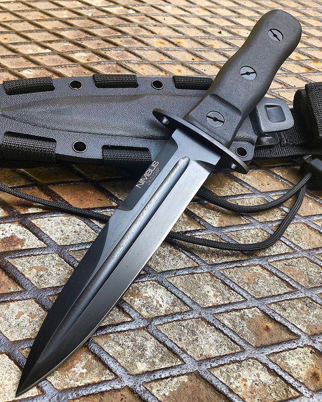 Extrema Ratio Nimbus Operativo Black taktikai kés