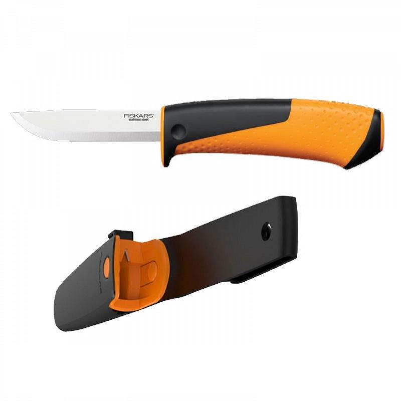 Fiskars Hardware outdoor kés integrált élezővel 156017
