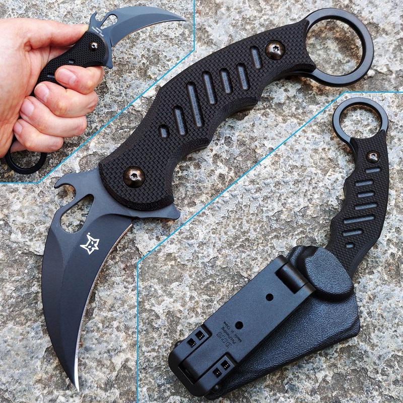 Fox FKMD Fixed karambit kés