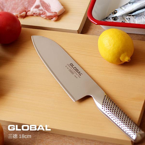 Global Santoku szakácskés 18 cm