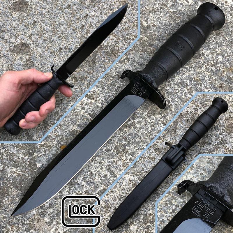 Glock 78 taktikai kés bajonett, Black