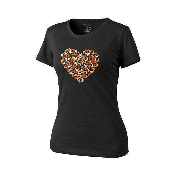Helikon-Tex Chameleon Heart női póló - Black