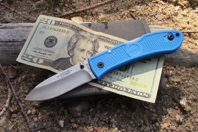 Ka-Bar Dozier Folding Hunter Blue zsebkés