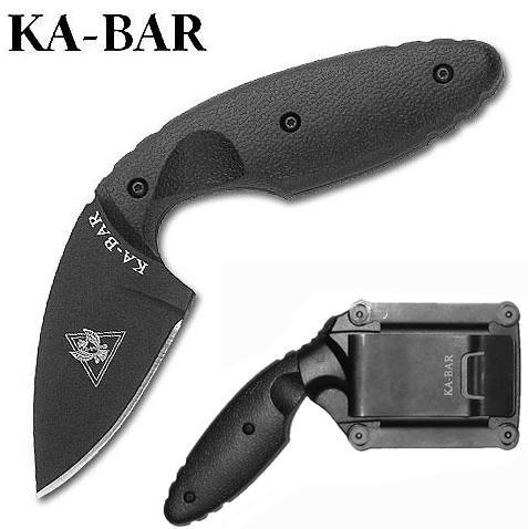Ka-Bar TDI Law Enforcement Black taktikai kés