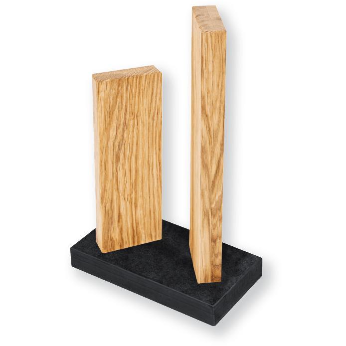 Kai késtartó blokk tölgyfa / gránit talppal