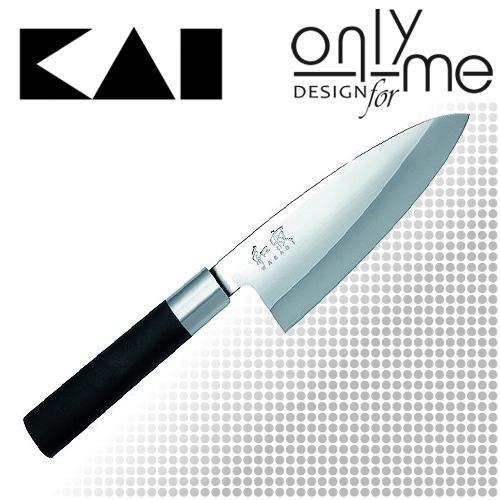 Kai Wasabi Black Deba konyhakés 15 cm