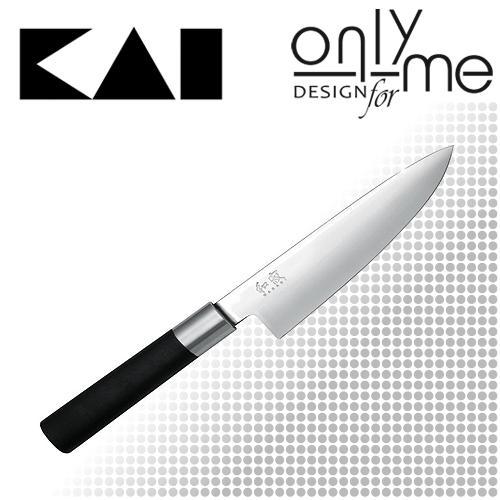 Kai Wasabi Black szakácskés 15 cm