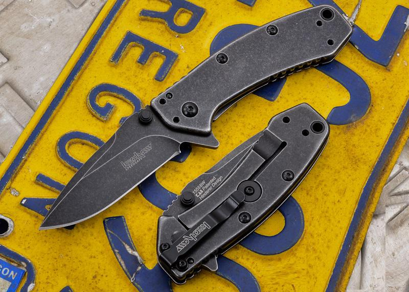 Kershaw Cryo - Blackwash zsebkés