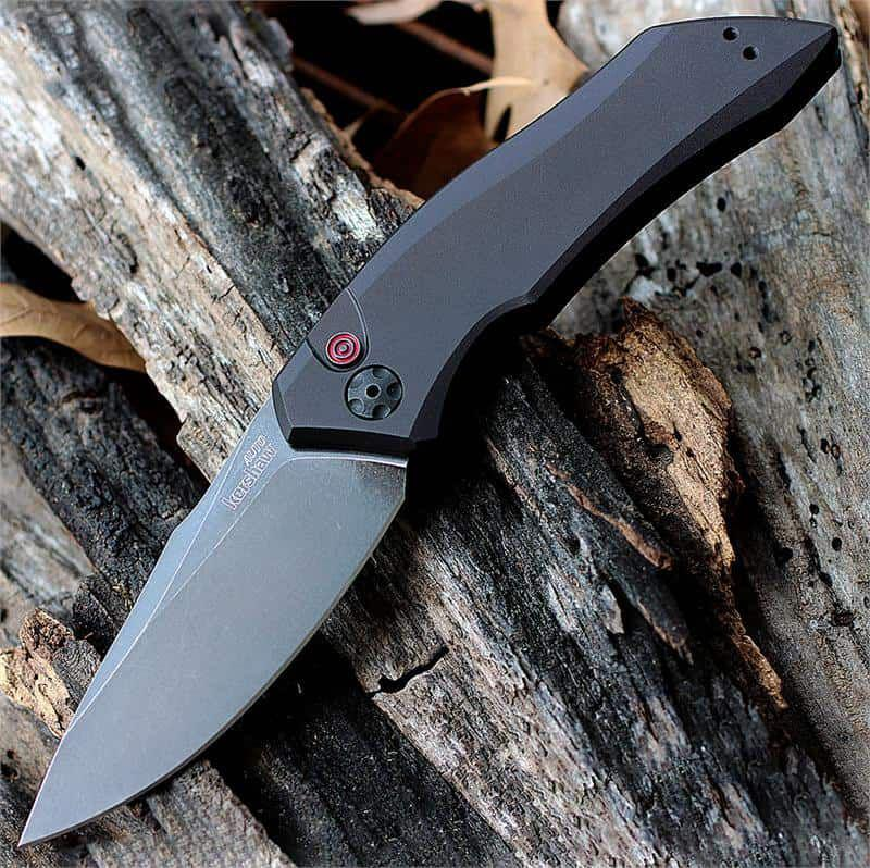 Kershaw Launch 1 Blackwash zsebkés