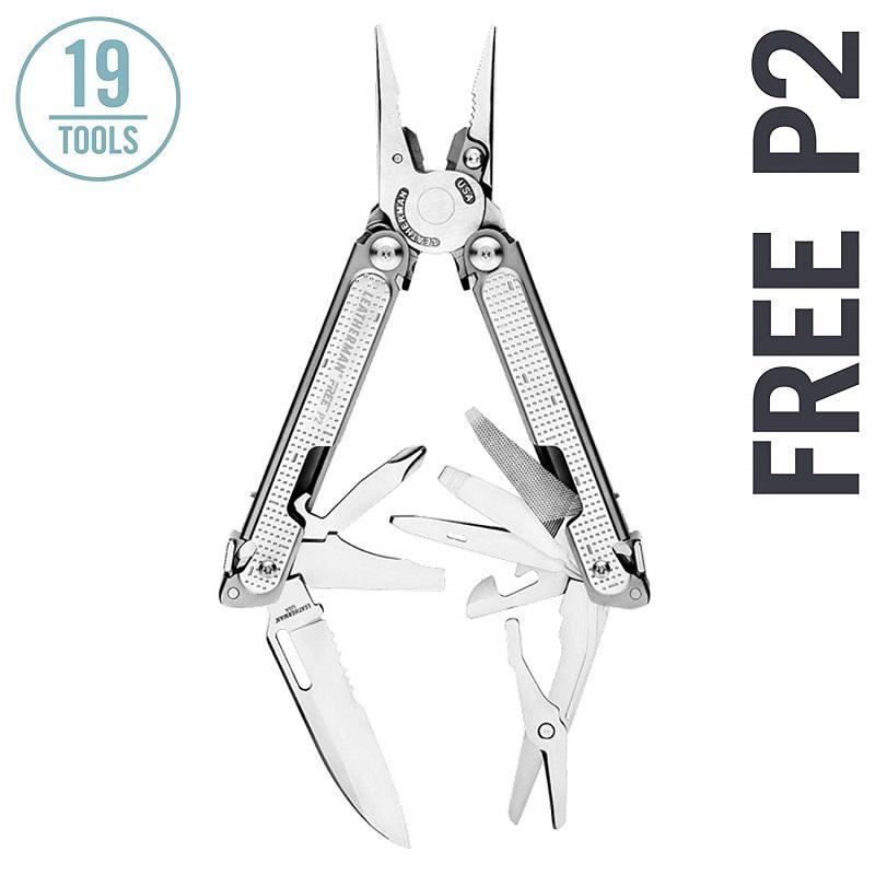 Leatherman Free P2 multiszerszám