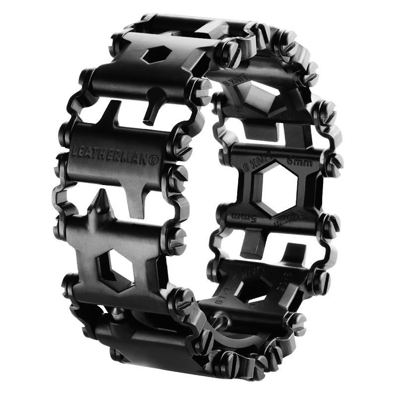 Leatherman TREAD multiszerszám karkötő Black