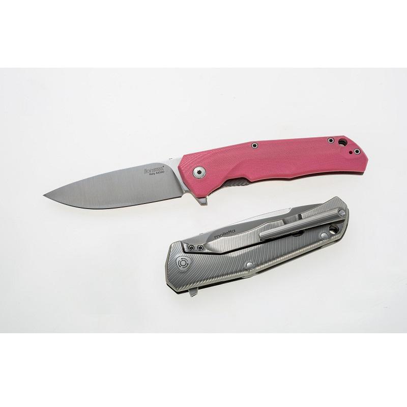 LionSteel T.R.E.  G10 Pink zsebkés