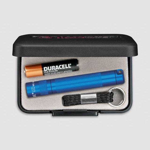 MAGlite Solitaire LED Blue elemlámpa díszdobozban
