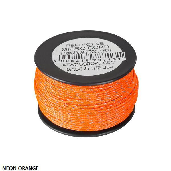 Micro Reflective Cord 1,18mm (37,5m) 2 féle színben