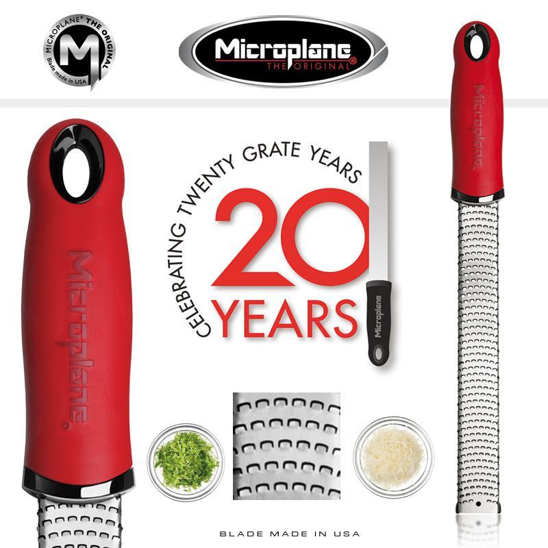 Microplane Premium Classic Ált./Héj Reszelő PIROS