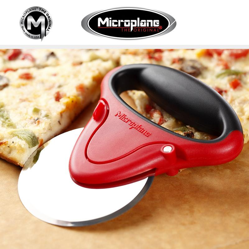 Microplane Speciality Pizza vágó Piros