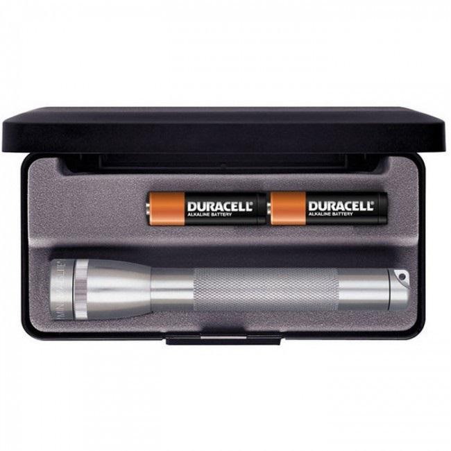 Mini MAGlite AA Grey elemlámpa díszdobozban