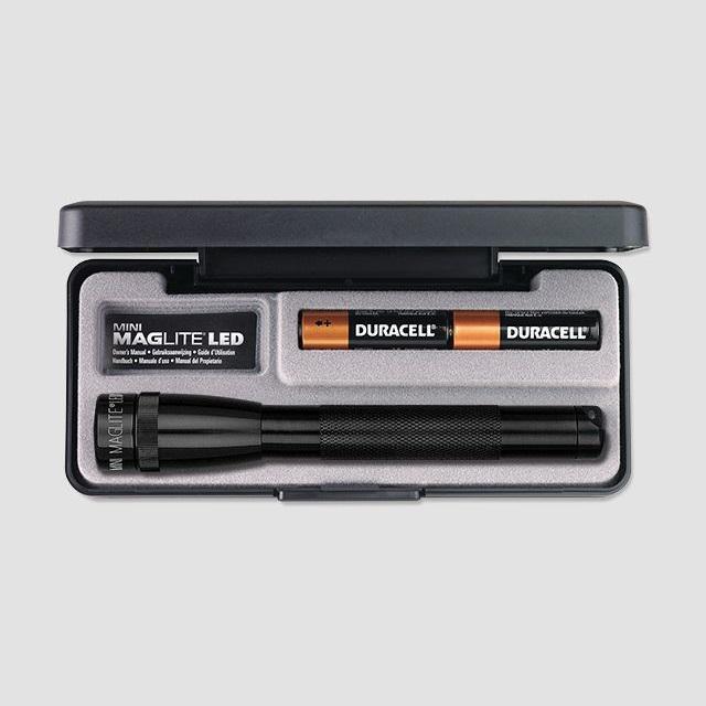 Mini MAGlite AAA LED Black elemlámpa díszdobozban