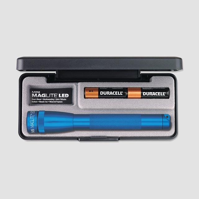 Mini MAGlite AAA LED Blue elemlámpa díszdobozban