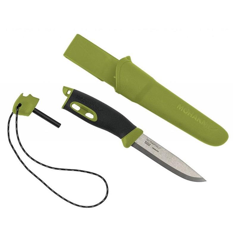 Morakniv Companion Spark Green outdoor kés