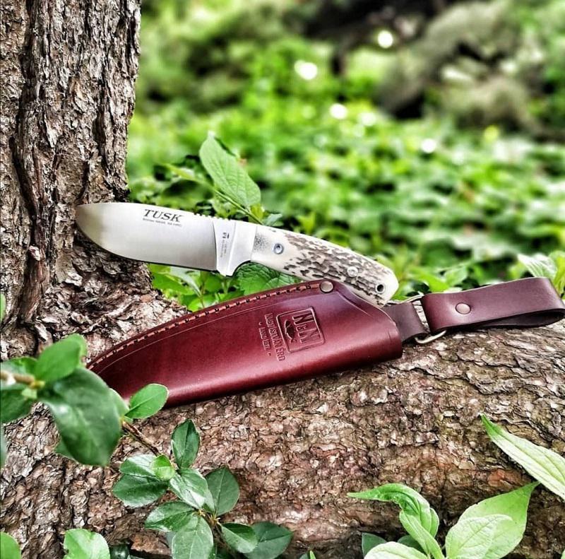 NN-Knives Tusk Vadászkés, agancs, 10 cm