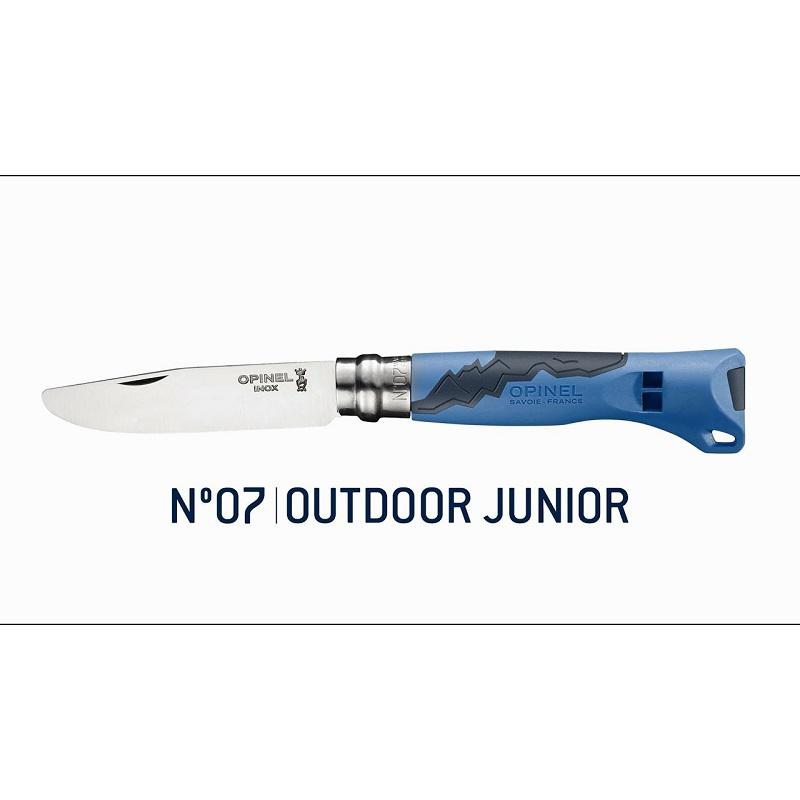 Opinel No.07 Outdoor Junior Blue gyerek bicska