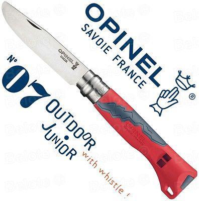 Opinel No.07 Outdoor Junior Red gyerek bicska