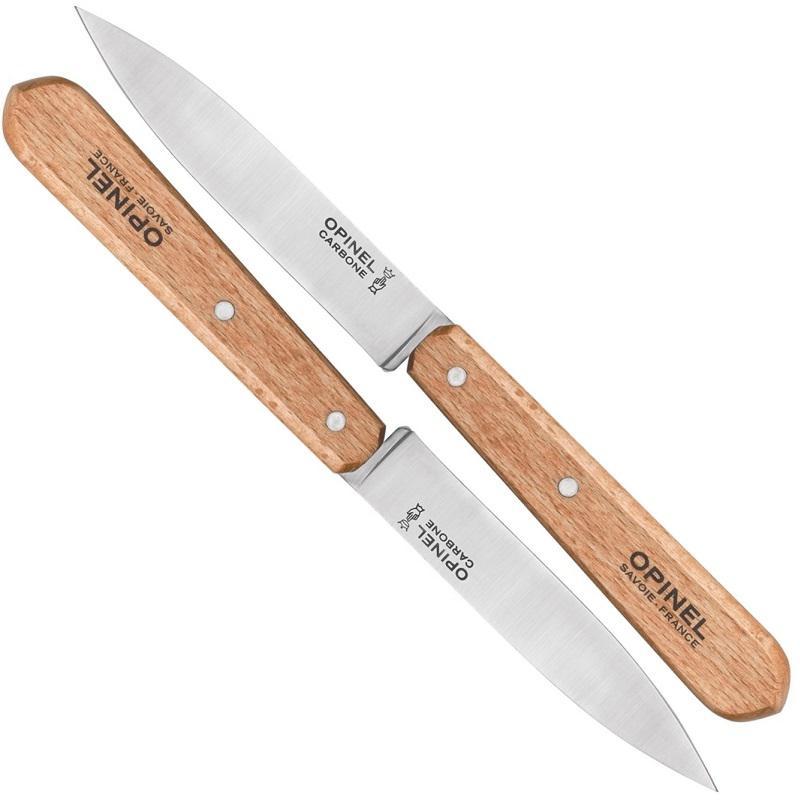 Opinel No.112 Zöldségvágó Inox kés 2db