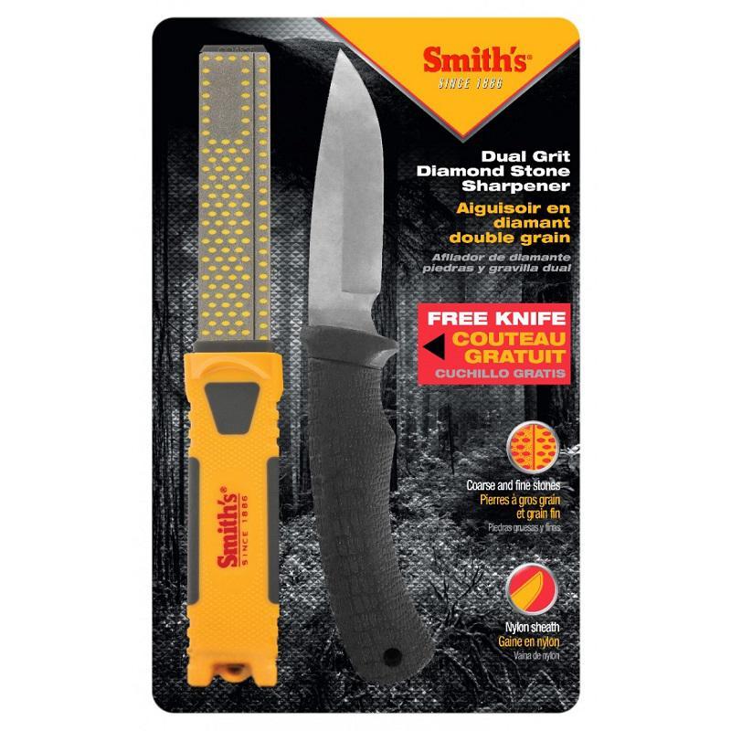 Smith's Gyémánt élező és Outdoor kés combo