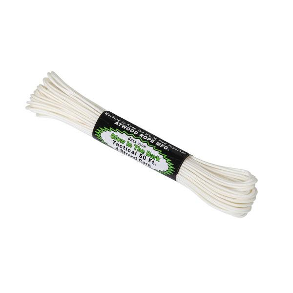 Tactical 275 Cord Glow In The Dark (15m) - White