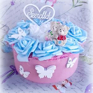 Magic Decor rózsadoboz/rózsadekor