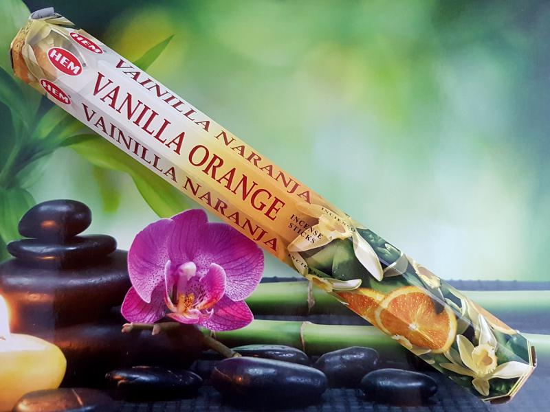 Hem füstölő 20 db-os vanília-narancs