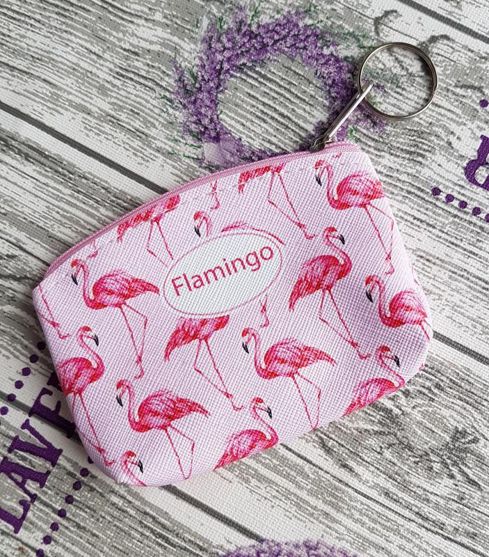 pénztárca - flamingó