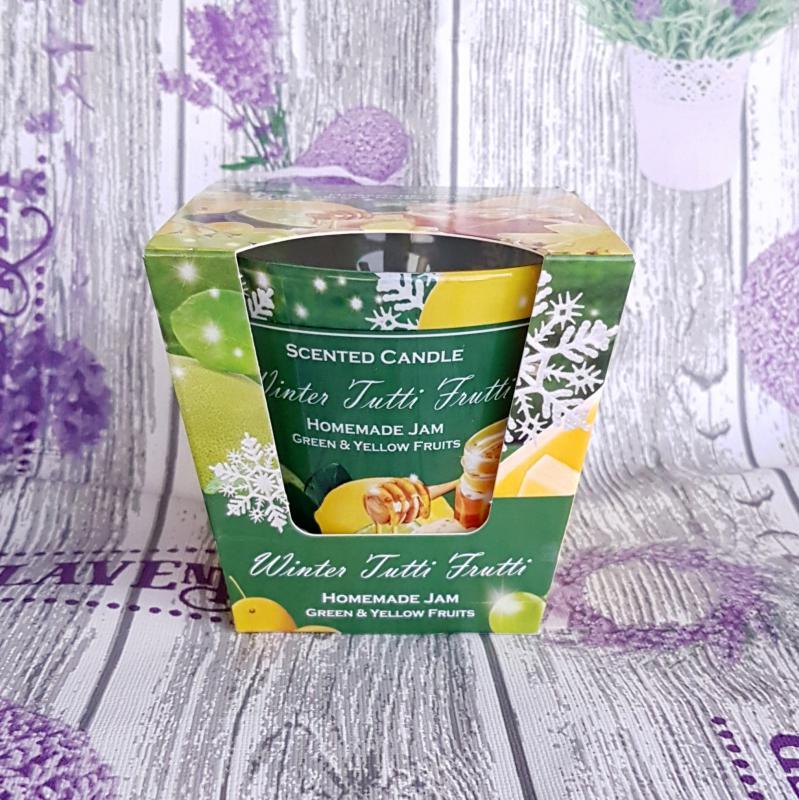 poharas illatgyertya - Winter Tutti Frutti