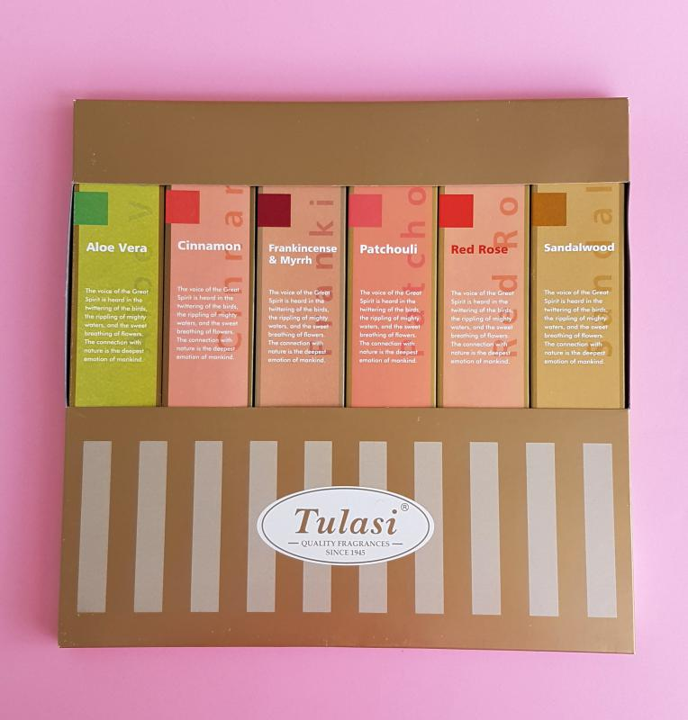 Tulasi Gold Line füstölő szett