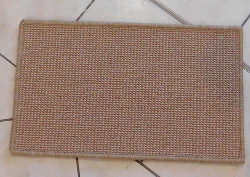 Barna WOOD szegett szőnyeg 76x94cm