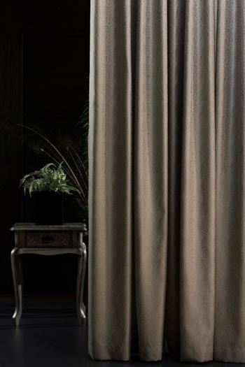 Dekor árnyékoló sötétítő függöny Szürke négyzet motívum 180x70cm