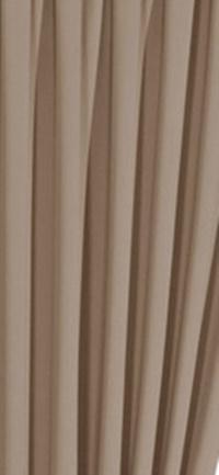 Drapp oldalt hímzett pamut dekor sötétítő függöny
