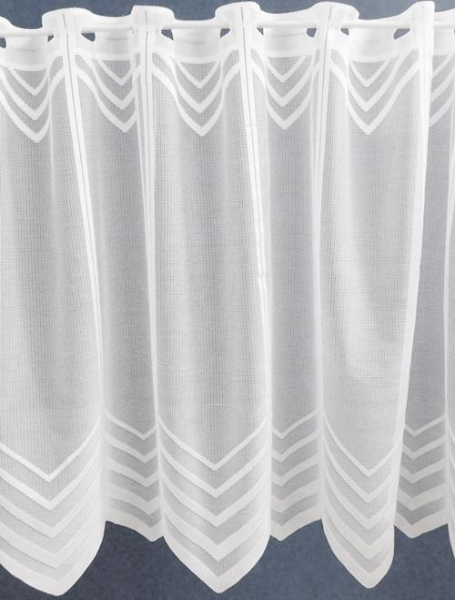 Fehér jaquard vitrage függöny DR-47431 90x134cm