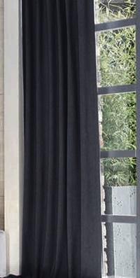 Fehér sable vitrage függöny Színes 75x140cm