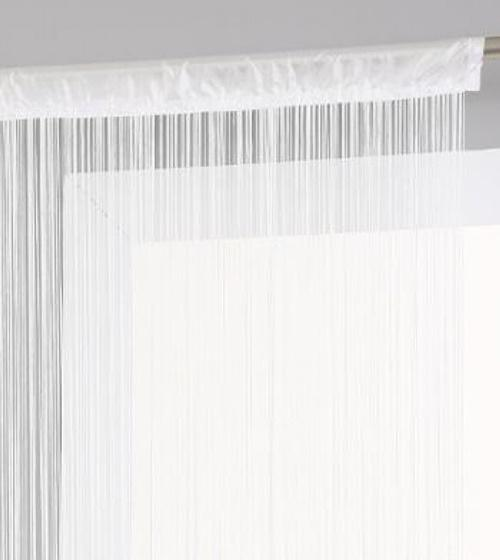 Fehér spagetti függöny