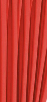 Fehér türkiz mintás voila kész függöny/60x150cm
