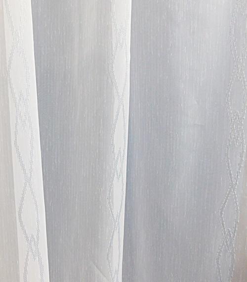 Fehér voila kész függöny színes lepke szivecske/160x230cm