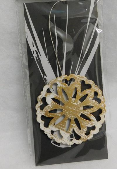 Függöny elkötő dekor clips mágneses