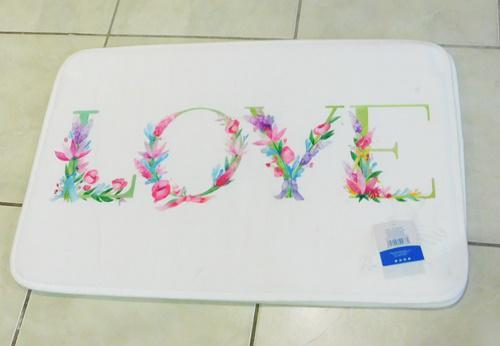 Fürdőszoba szőnyeg LOVE