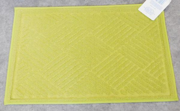 Fürdőszobai pamut szőnyeg terra
