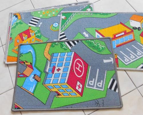 Gyerekmintás lábtörlő kis szőnyeg Fiús 40x60cm