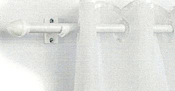 Kávéházi rúd fehér 85-135cm-ig kihúzható